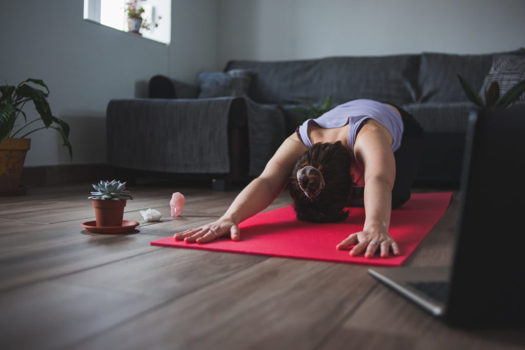 Child's Pose Stretch for Lower Back Pain