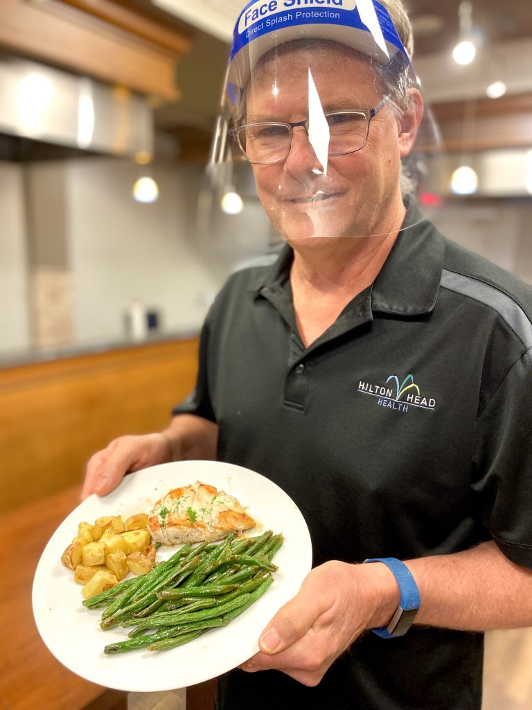 Bob Wright HelloFresh Cooking Demo